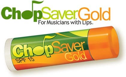 Chopsaver Gold Lip Balm